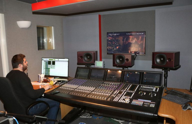 NFTS PSI Audio in Studio
