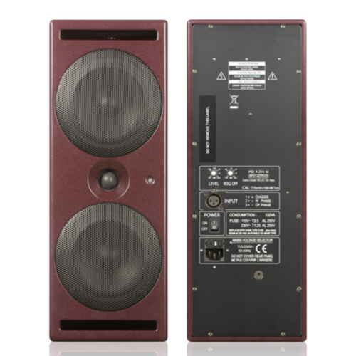 PSI Audio A214-M Red